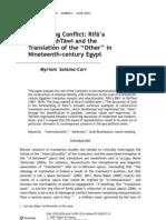 Negociating Conflict Salama-Carr