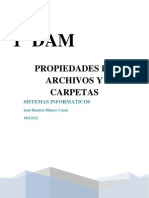 Propiedades de Archivos y Carpetas