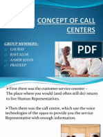 Concept of Call Centers
