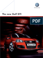 Golf GTI VW Brochure
