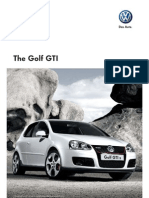 Golf GTI S Version VW Brochure