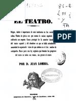 El_teatro