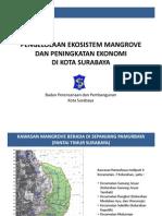 Presentasi Mangrove Badan Perencanaan Kota Surabaya