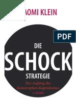Klein, Naomi - Die Schockstrategie