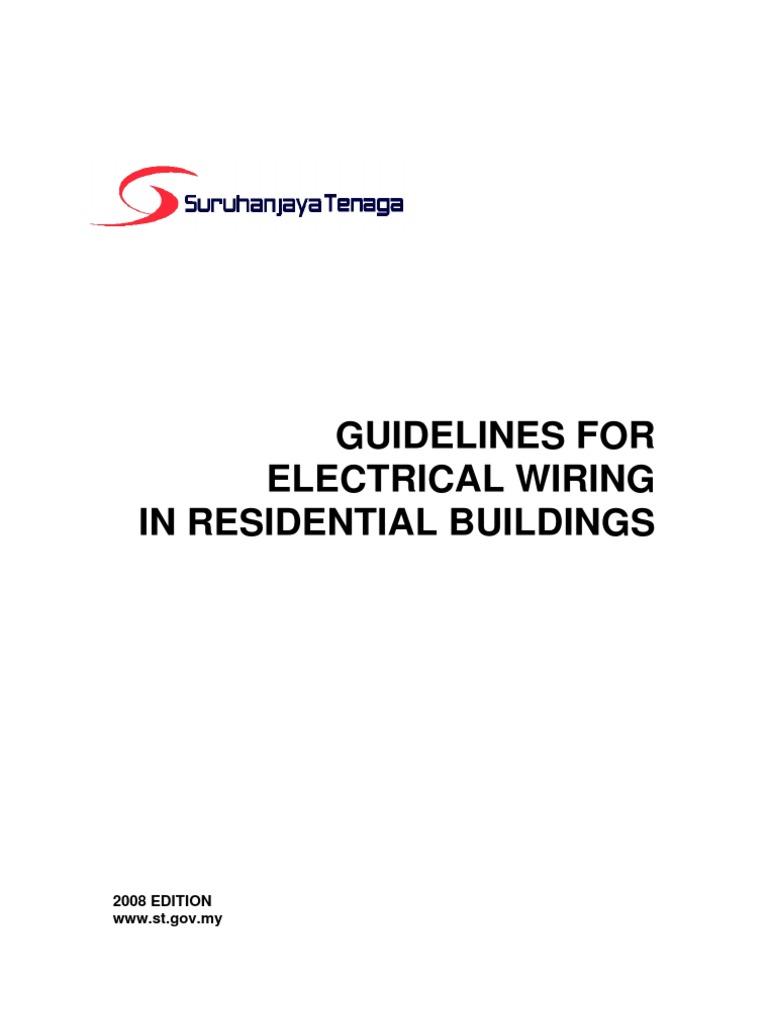 Superb Suruhanjaya Tenaga Guidelines For Wiring Residential Electrical Wiring Digital Resources Sapredefiancerspsorg