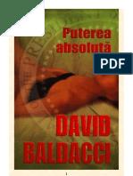 David Baldacci - Puterea Absoluta (v1.0)