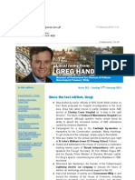 News Bulletin from Greg Hands M.P. #362