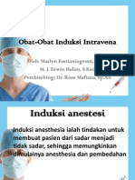 Obat-Obat Anestesi Intravena Ppt