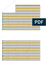 Planilha para tabulação da prova diagnostica - Cópia