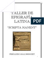 Taller de Epigrafia Latina