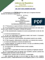 Codigo Civil Brasileiro - LEI N 12.441, De 11 de JULHO de 2011