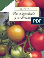 Capitolul 12 - Plante Legumicole Si Condimentare