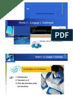 Formation Langage C Embarqués_Partie II_A.DRISSI EL-BOUZAIDI [Les fonctions]