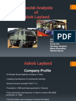 Ashok Leyland _ Financial Analysis 2006-07
