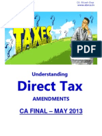 234797 53963 Amendments CA Final May 2013 Direct Taxes