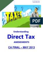 234797 53963 Amendments CA Final May 2013 Direct Taxes