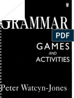 !!!Grammar Games and Activities