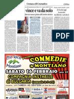 16.2.2013, 'Al via da oggi la mostra tra liberty e art decò', Corriere di Romagna
