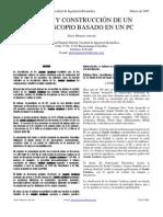 DISEÑO Y CONSTRUCCIÓN DE UN ESTETOSCOPIO BASADO EN UN PC