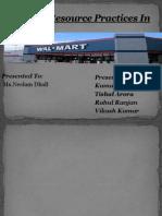 HR at Walmart