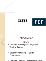 A general look at IELTS