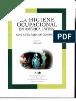 Higiene Industrial en a.latina. Una Guia Para Su Desarrollo
