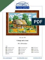 Cottage and a Crane (Color Detail)