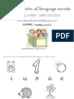 Aproximación al lenguaje escrito. Cuaderno 1