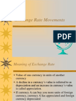 Exchange Rate Movements detail