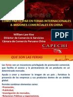 Como Participar en Ferias Internacionales y Misiones Comerciales en China