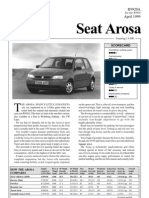 Seat Arosa 1.0mpi April1999 Fulltest