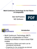 092910 Multi-Continuum Technology for the Failure of Composites McPheeters