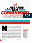 Rússia - vinte anos sem comunismo