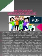 Area Psicologia Ppt
