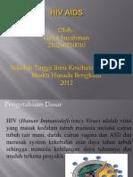 Hiv Aids.pptxpoer Point