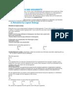 Argument Forms and Arguments