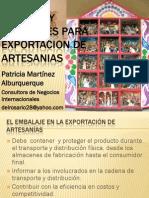 Envases y Embalajes Para Exportacion de Artesanias