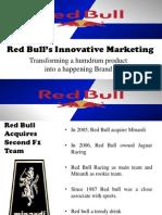 Red Bull's Innovative Marketing