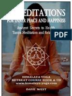 YOGA Meditationbooks