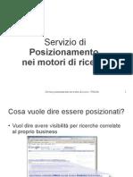 Scopri come posizionare un sito nei motori di ricerca - Bologna