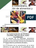 El agro colombiano, la producción de alimentos