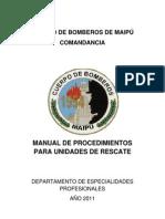 Manual de Procedimientos de Rescate