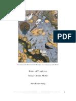 Birds of Prophecy - Ami Ronnberg