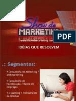 show de marketing - portifólio