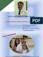 Presentación de datos personales Lenin Ramírez.pptx
