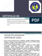 4 Sertifikasi Bk