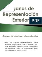 Órganos de Representación Exterior- DIP