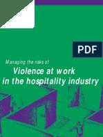 hospitality violence