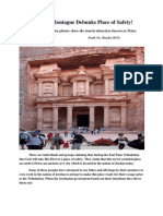 Petra Photo Montague Debunks Place of Safety!