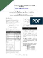 2009 Volumen 1, Número 3, Año 2009 Interpretación rápida de gases arteriales